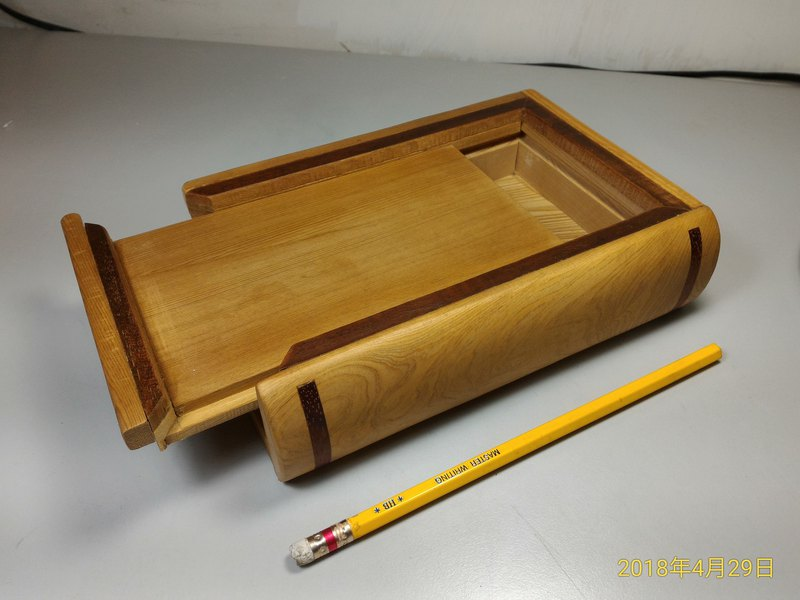 ~ Old New Material ~ Taiwan Elm Small Book Box