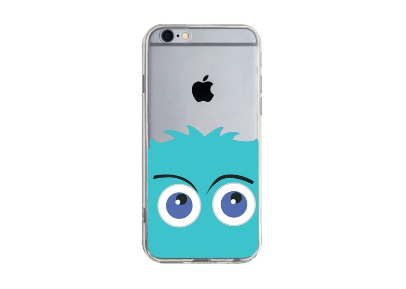 Cute Little Monster - iPhone X 8 7 6s Plus 5s Samsung S7 S8 S9 Mobile Shell