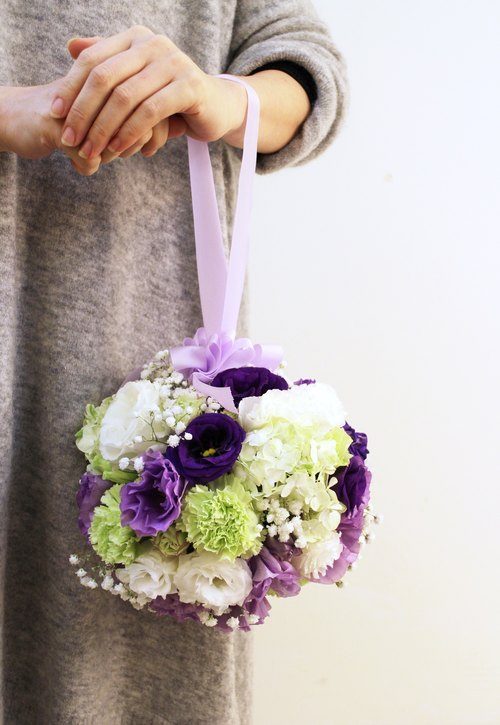 Snowball Bouquet