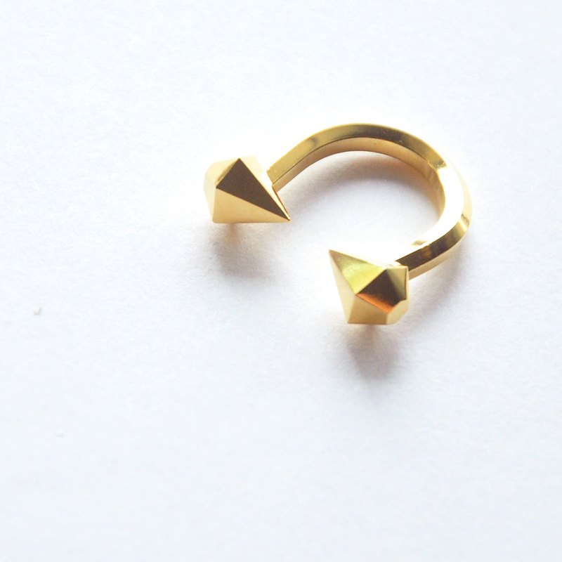 TAL Dew - Gold Pot II Plated 24K Gold Ring
