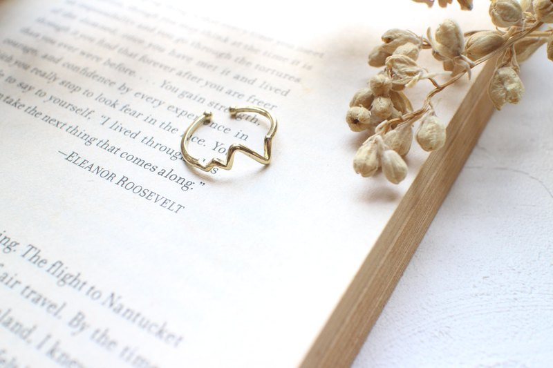Simple Brass ring