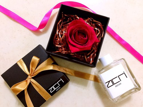 ANGECHERI Orange Flower Reveal Lover Gift Box Edition