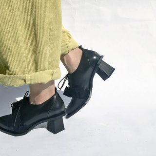 Petal collar with half ankle boots || Matisse one-man show black || #8144