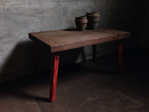 Folding Table -red bri-