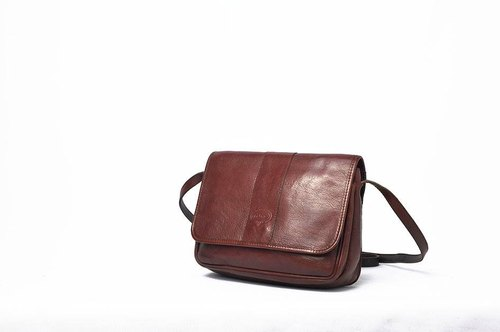 Vintage Antique oblique backpack
