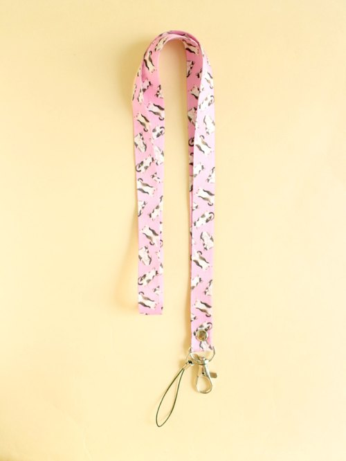 Syrup Cat Lanyard
