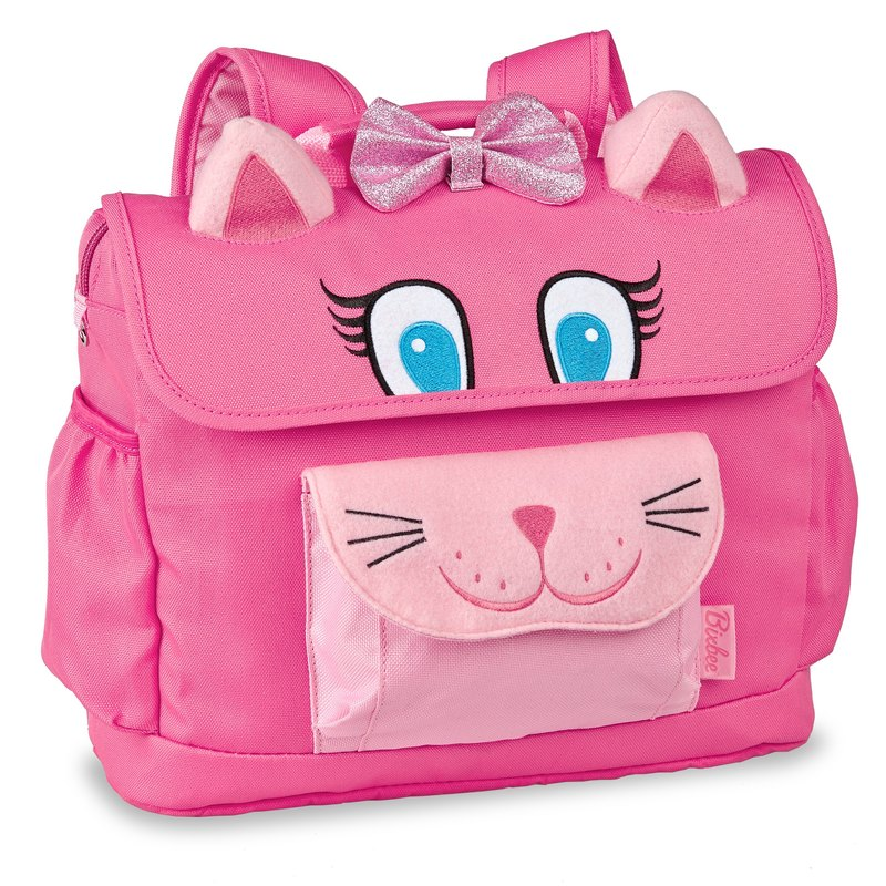 American Bixbee3D animal childrens series - sweet pink cat kitty backpack