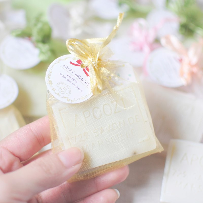 Vanilla handmade soap wedding small things