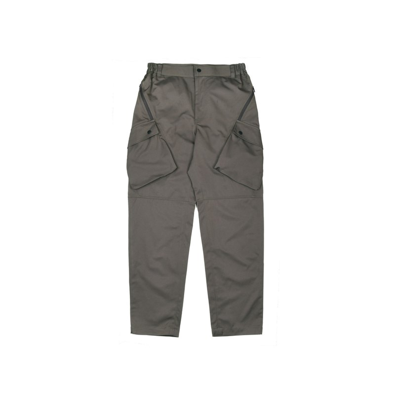oqLiq-Dualism-Cross Pocket 3D Army Pants (coolmax Army Green)