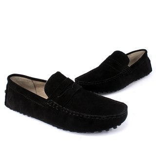 Sixlips yi classic suede peas shoes black