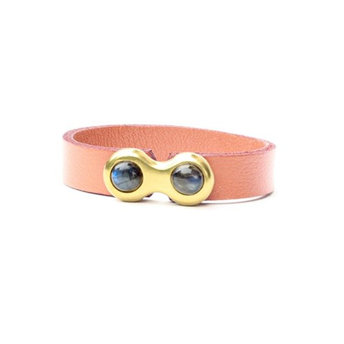 Dragon eye leather wrist strap