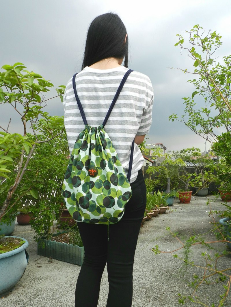 Bubble Forest (zipper takeaway design) ~ beam backpack / beam pocket