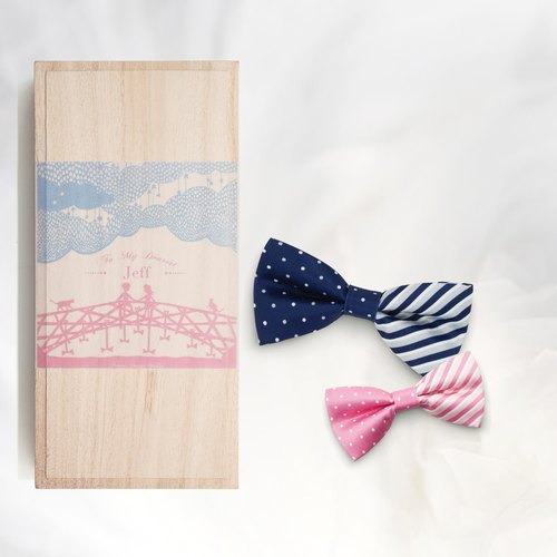 Novios Bowties Normal Combo Box Set - Box Cover with your Name