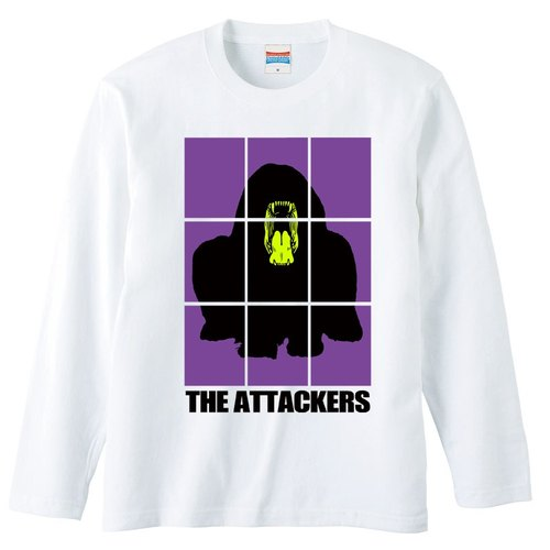 [Long sleeve T-shirt] THE Attackers Purple