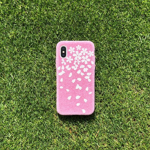 限定Shibaful Cherry Blossom 2018 iPhone case 草皮櫻花粉手機殼  iPhone/SE/6/6s/7/8/Plus/X