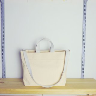 jainjain-no chapter 02 white tote bag / portable / shoulder Tote