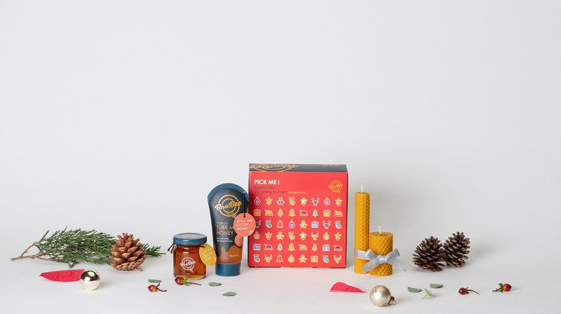 PICK ME Gift Box Honey Christmas Gift Box