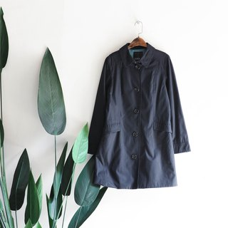 Hyogo Black and Blue Youth Love Day Handmade Antique Thin Windbreaker Jacket trench_coat dustcoat