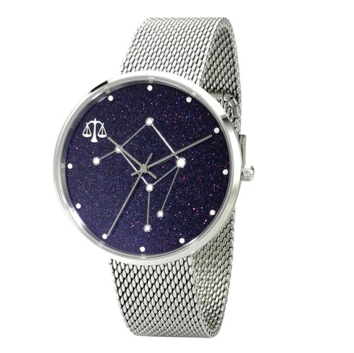 Constellation in Sky Watch (Libra) Luminous Free Shipping Worldwide