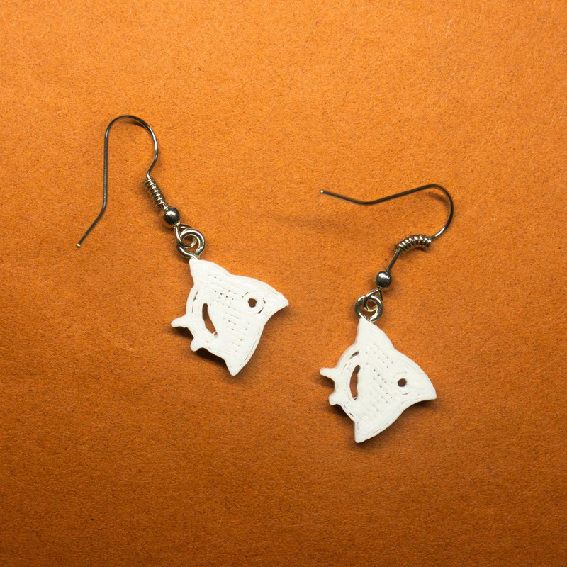 3D Printed Earrings - CHIDORI