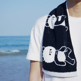 Melted ! panda sports towel