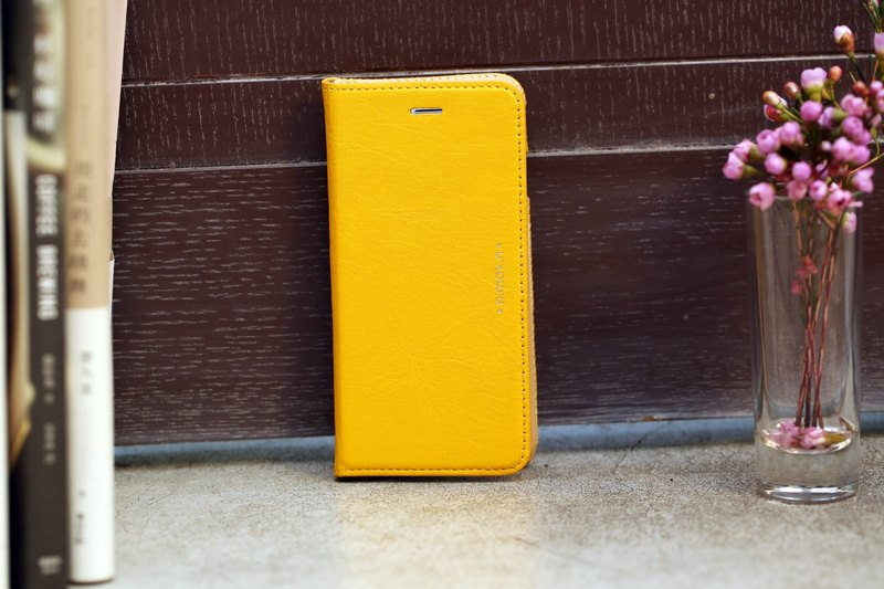 iPhone 6 PLUS /6S PLUS / 5.5 inch Slipcase Series Leather Case - Yellow