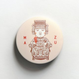 Magnet Badge Badge - Goddess Mazu in Heaven
