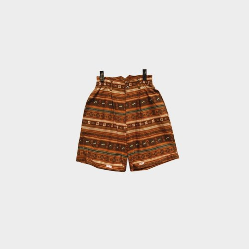 Discolored Vintage / Totem Print Shorts No.068 vintage