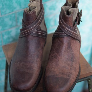 Banana Flyin' Italian Leather Boots 36