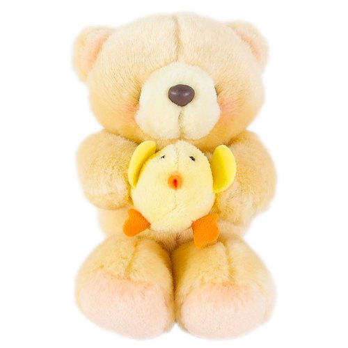 4.5 吋/Chick Partner Fluffy Bear [Hallmark-ForeverFriends Plush-Vendor Series]