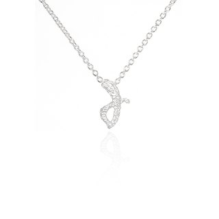 J. / Silver Necklace