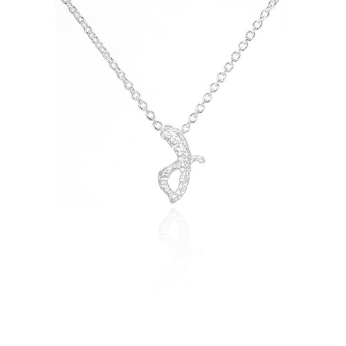J.[Necklace][Silver]