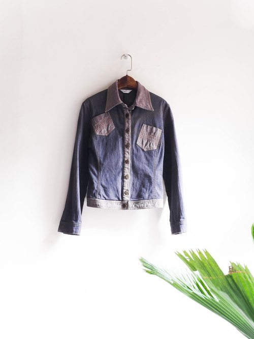 River Hill - Tokushima shallow violets Story thin pounds tannins Jacket vintage antique neutral shirt oversize vintage denim