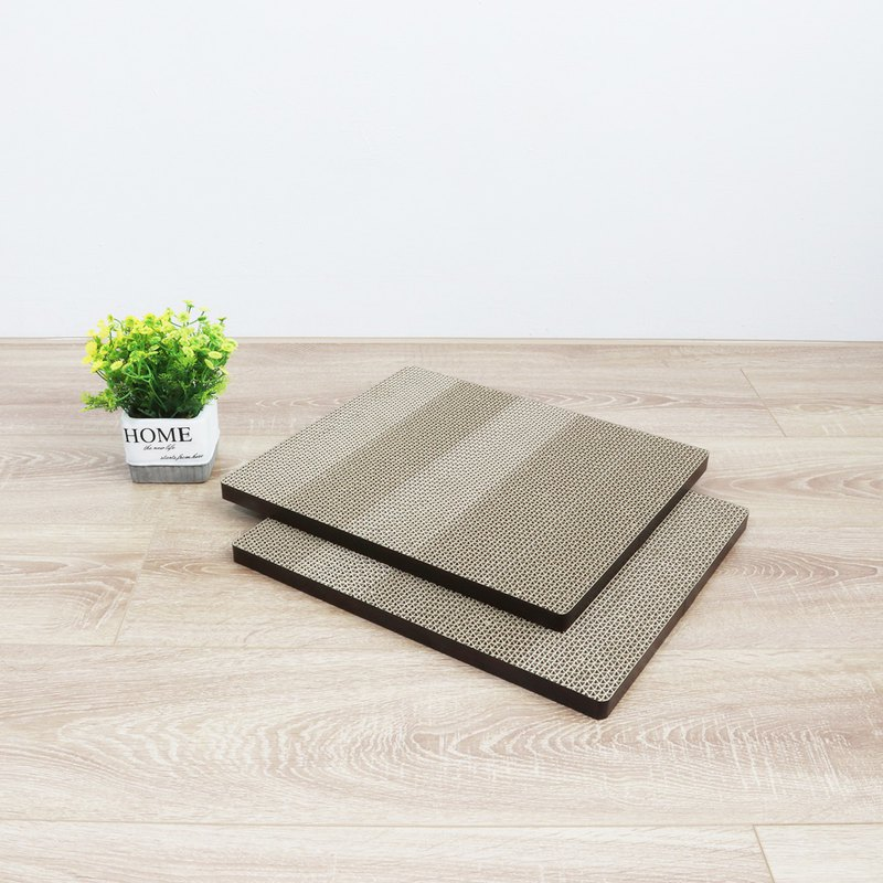 [Ange House] Upright Sanding Mat (Environmental Replacement Pack 2 Pieces)-Walnut