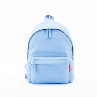 Waterproof Heavy Canvas Backpack ( Mini, A4 ) / Blue / for both adults and kids