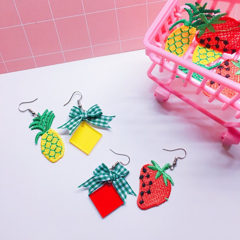 Fruit Earrings