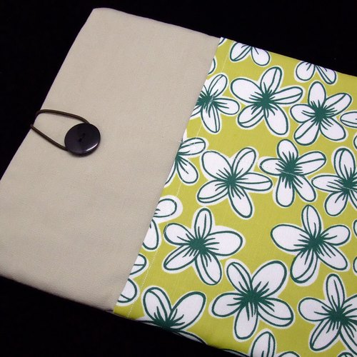 "11"" to 13"" MacBook Pro case, MacBook Air cover, Surface RT Pro, Laptop, Custom tablet sleeve with 2 pockets PADDED (39)"