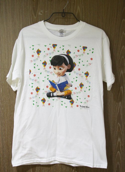 Little Prince Movie Edition Authorization - T-Shirt: [Little Girl's Inspiration] Adult Short Sleeve T-shirt, AD11
