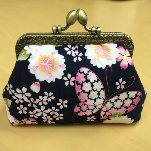 Japanese butterfly Mini Cosmetic bags | Girlskioku~*