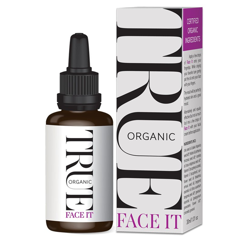 Face it -  fast absorbing potent organic serum