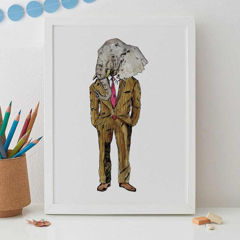 THE ELEPHANT MAN PRINT