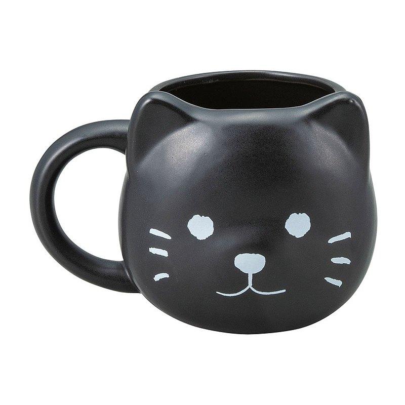 日本 sunart 馬克杯 - 小黑貓