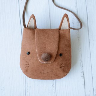 Fox shape diagonal back pouch
