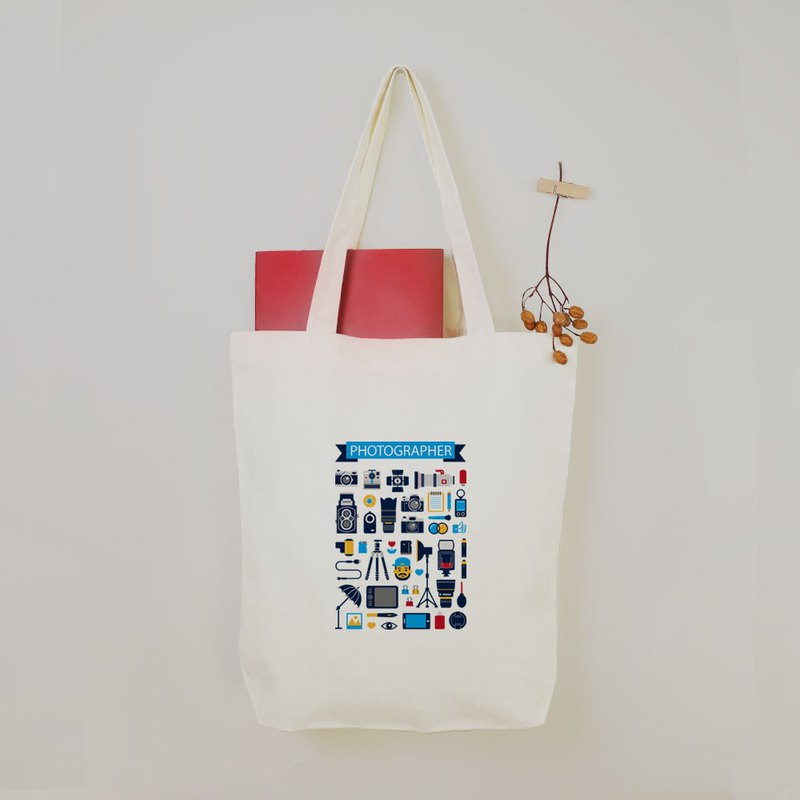 Alvin - Photographer Equipment Graduate Drawing Gift Canvas Tote Bag