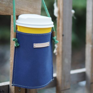 Come to this set of bags, tear not wash, kraft paper, drink bag, blue