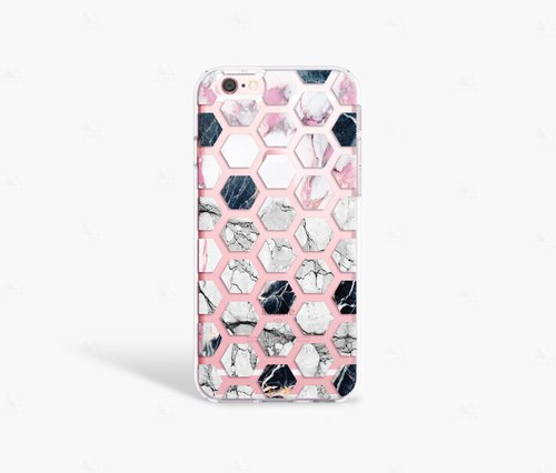 Marble Print iPhone 7 Case Clear iPhone 8 Case Clear iPhone 7 Plus Clear