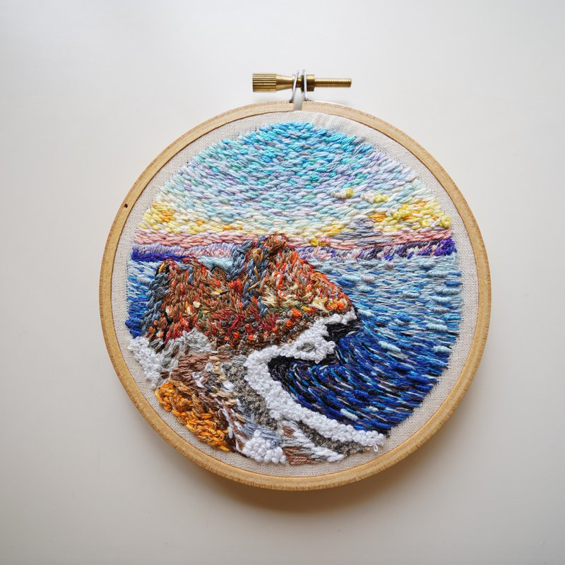 Embroidery, hand embroidery, embroidery art, Nr. 7