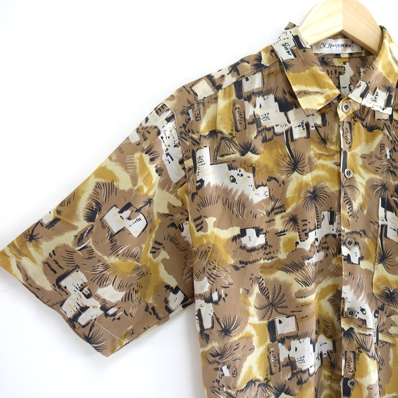 │Slowly│ Hawaii - Vintage shirt │vintage. Vintage. Art