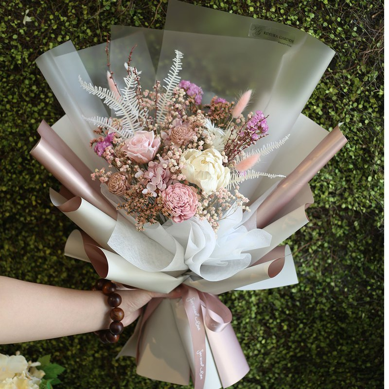 璎珞Manor*G44*Gift bouquet/Eternal flower. Dry flower/Flower/Valentine bouquet/Teacher bouquet