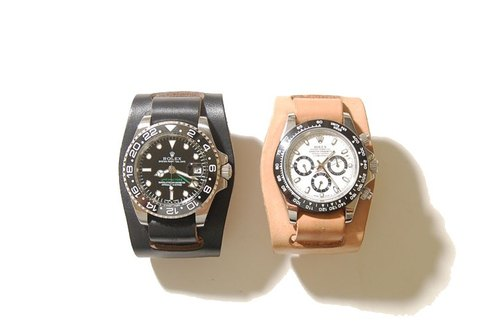 2 Pieces Watch Straps - Two-piece military watch strap